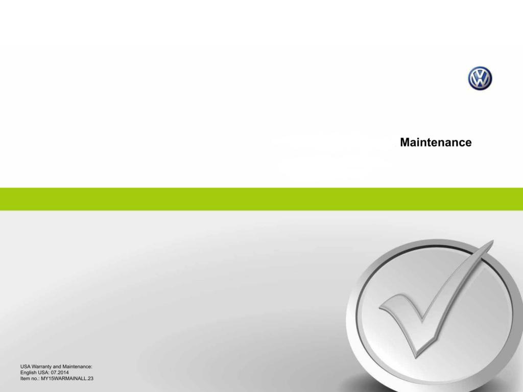 volkswagen maintenance schedule jorgevwcom